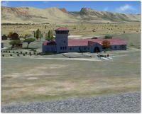 Beaufort West Airfield Scenery.