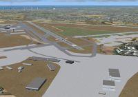 Ben Gruion Airport Scenery.