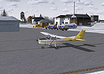 Beverly Municipal Airport Scenery.