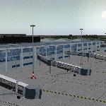 Birmingham Int'l Airport Scenery.