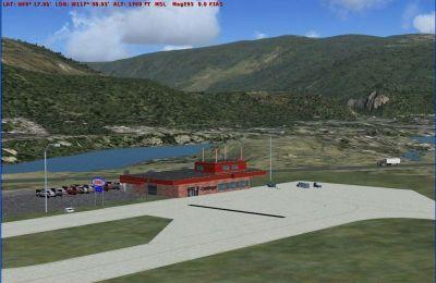 Castlegar Airport Scenery.