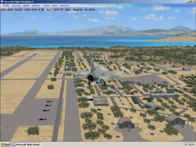 Chania-Souda Air Base Scenery.