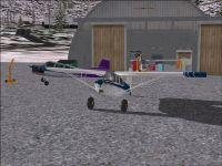 Chitina Airport Scenery.