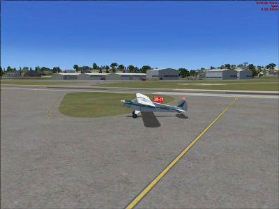 Columbia Airport Scenery.