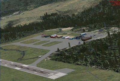 Cranbrook Airport Scenery.