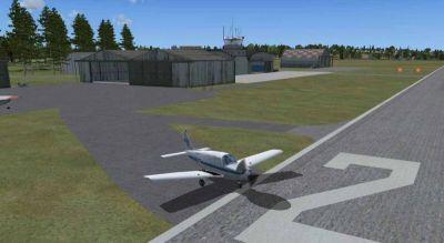 Cumbernauld Airport Scenery.