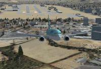 Daegu International Airport Scenery.
