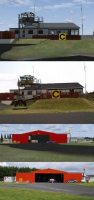 Default Newtownards Airfield Scenery.
