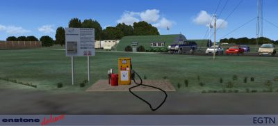 EGTN Enstone Airfield Scenery.