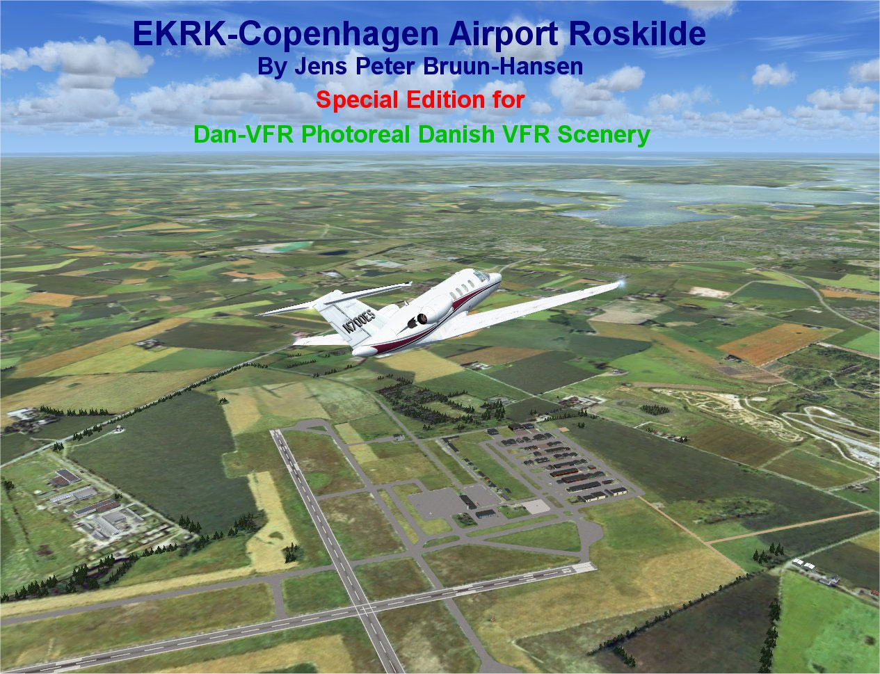 EKRK Copenhagen Airport Scenery for FSX