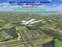 EKRK Copenhagen Airport Scenery.