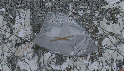 EPEL Elblag Aerodrome Scenery.
