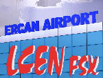 Ercan Airport Scenery.