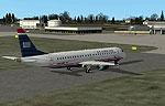 Erie International Airport Scenery.