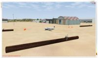 Eyguieres/Salon Airport Scenery.