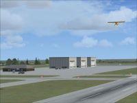 Frank Lenihan Municipal Airport Scenery.
