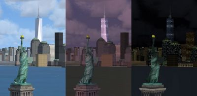 Freedom Tower Scenery.