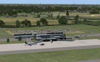 Gainesville Airport Scenery.