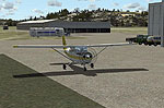 Hamilton Municipal Airport Scenery.