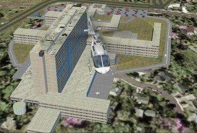 Henri Mondor Hospital Scenery.