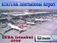 Istanbul Ataturk Airport Scenery.