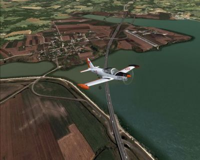 Istanbul Hezarfen Airfield Scenery.