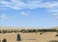 Jiptlik Airstrip Scenery.