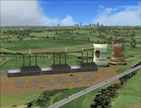 Johannesburg Power Stations Scenery.
