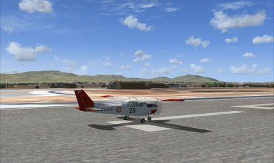 Konya Airfield Scenery.