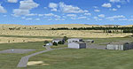 Kuruman Airfield Scenery.