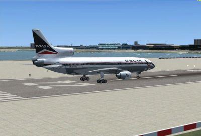 La Guardia Airport Scenery.