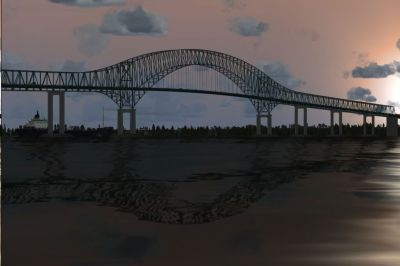 Laviolette Bridge Scenery.