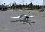 Massena International Airport Scenery.