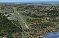 Massey Ranch Airport Scenery.