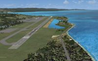 Montego Bay Airport Scenery.
