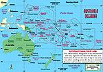Oceania - Asia SRTM Terrain Scenery.