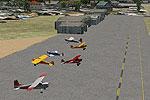 Oceano Airport Scenery.