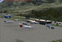 Penticton Airport Scenery.