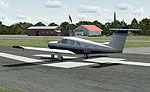 Piseco Airport Scenery.