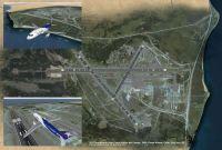 Punta Arenas Airport Scenery.