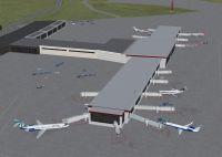 Quad City International Airport Scenery.