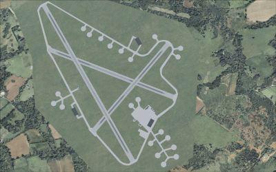 RAF Lasham Scenery.