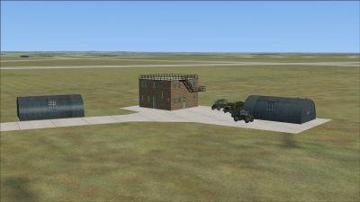 RAF Ridgewell Scenery.