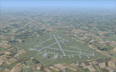 RAF Spilsby Scenery.
