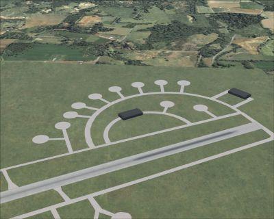 RAF Stoney Cross Scenery.