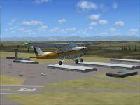 Redding Municipal Airport Scenery.