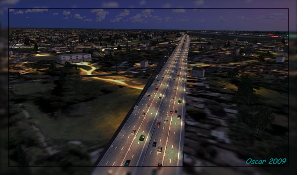 Road Textures Scenery for FSX