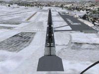 Runway Extension Bern Belp Scenery.