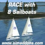 Sailboat Race Scenery.