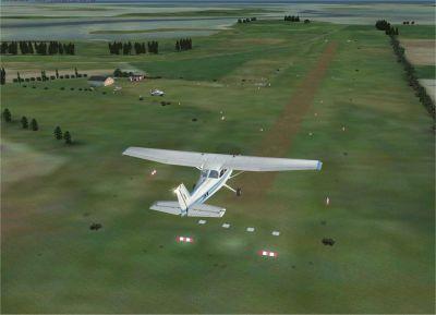 Samso Airport VFR Photo Scenery.
